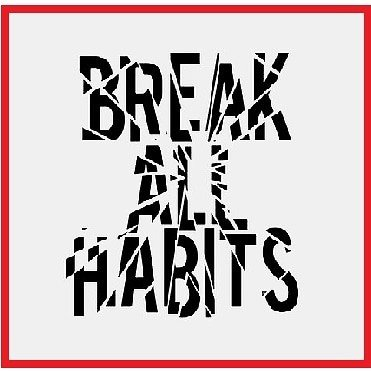 breaking habits