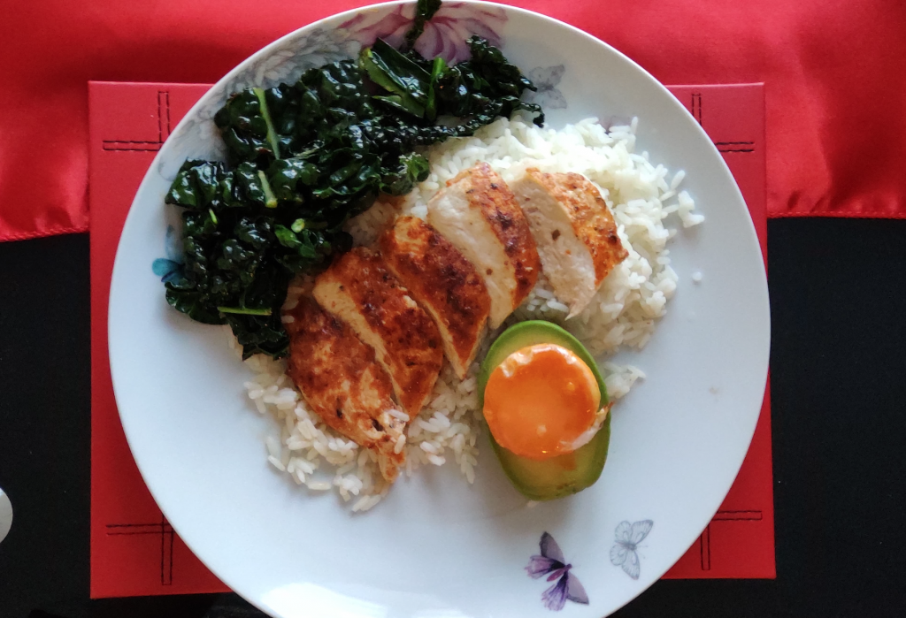 chicken with rice dinner recipe