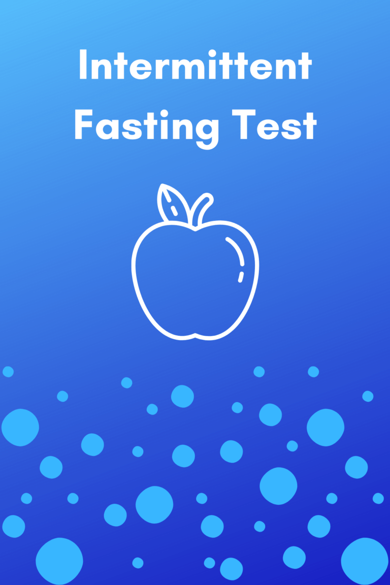 intermittent fasting test