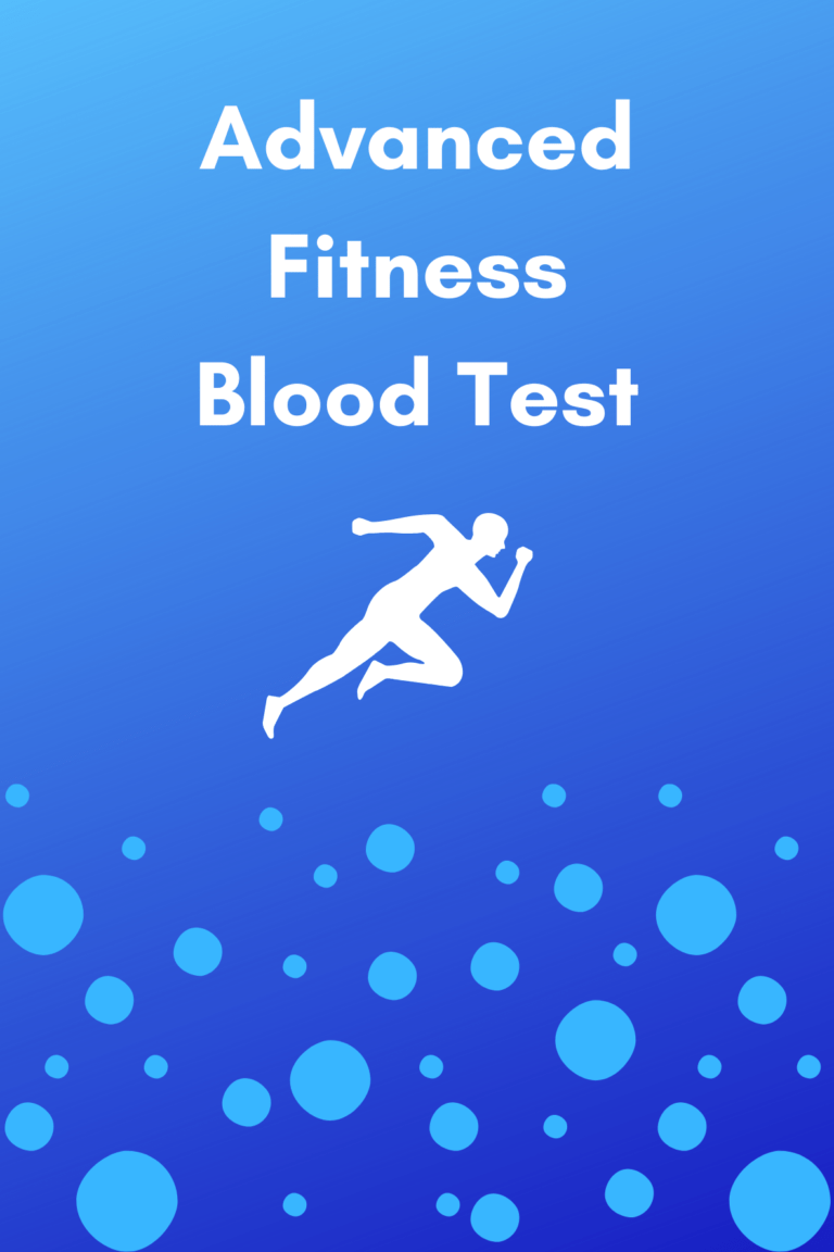 advanced fitness blood test