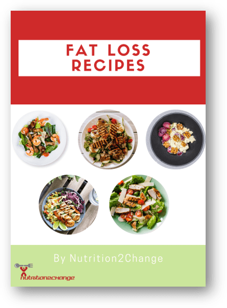 fat loss recipes front cover