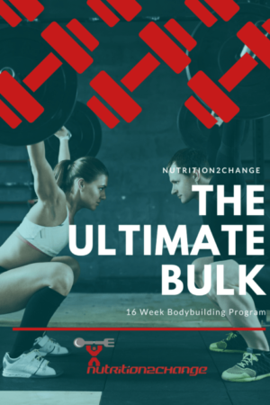 16 week body building program FRONT COVER