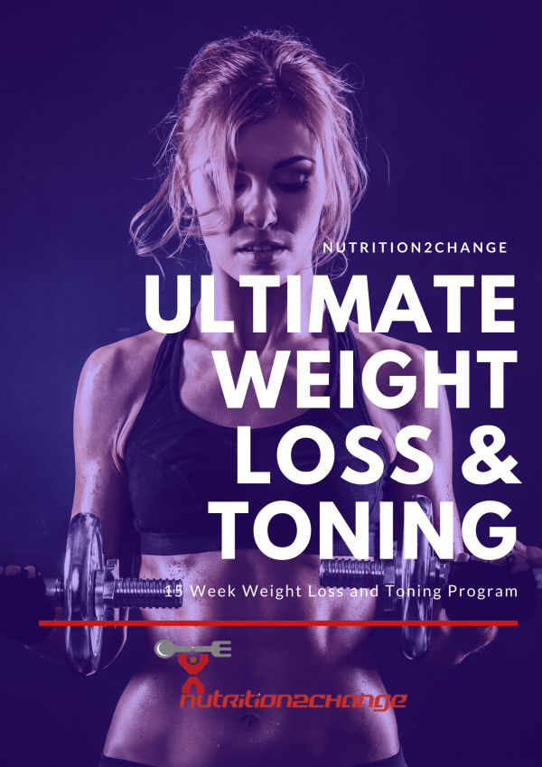 16 week weight loss and toning program FRONT COVER