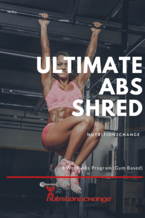 8 weeks abs program gym based - front cover