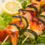 Thai salmon kebabs with sweet chilli & lime dip recipe